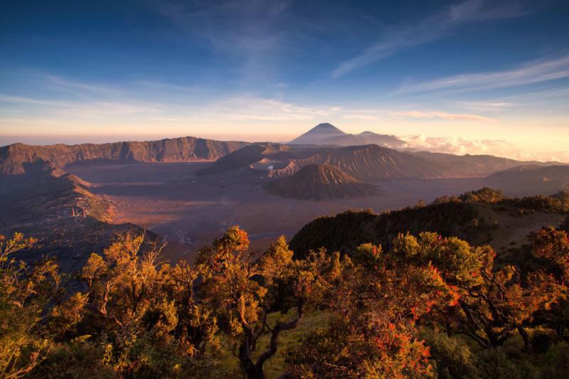 The Mountain Peaks of Bromo Tengger Semeru - 2018